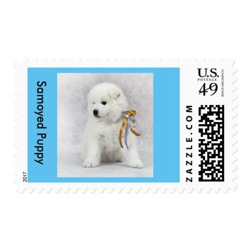 Samoyed Puppy First Class US Postage