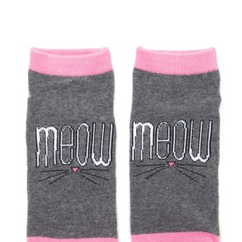 Meow Ankle Socks