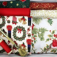 One-Off Luxury Monthly Box - Traditional Christmas 2 - My Sewing Box