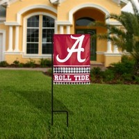 Alabama Crimson Tide 11'' x 15'' Roll Tide Garden Flag