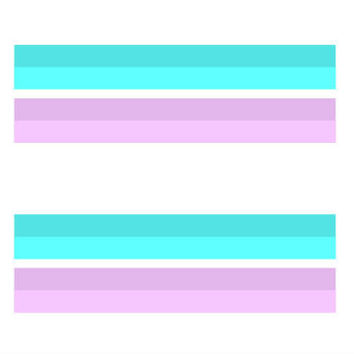 LGBT Pride, Transgender Equality Bars Tattoo Set