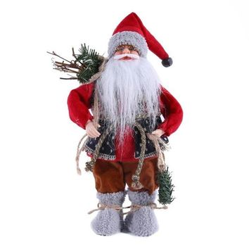 Christmas Santa Claus Doll Ornaments For Home