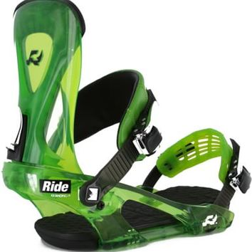Ride KX Snowboard Bindings - lime - Snowboard Shop > Snowboard Bindings > Men's Snowboard Bindings