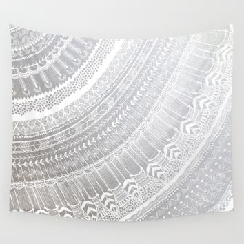 Silver Wall Tapestry by Rskinner1122