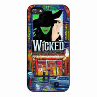 Wicked Broadway Musical watercolor for iPhone 5S Case *01*