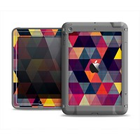 The Triangular Abstract Vibrant Colored Pattern Apple iPad Air LifeProof Fre Case Skin Set
