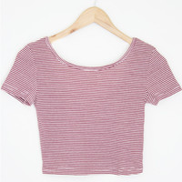 Striped Crop Top (More Colors)