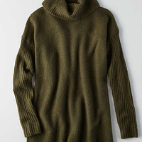 AEO Ahh-mazingly Soft Turtleneck Sweater, Olive