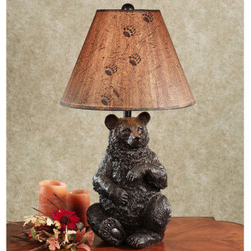 Bear Tracks Table Lamp