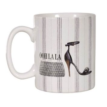 Oh la la Coffee Mug, Fashion Mug, Tea Mug