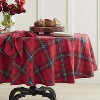 Classic Tartan Plaid Tablecloth