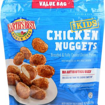 EARTHS BEST: Kidz All Natural Baked Chicken Nuggets, 16 Oz