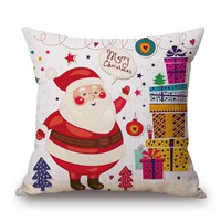 Christmas Decorative Pillow Cover