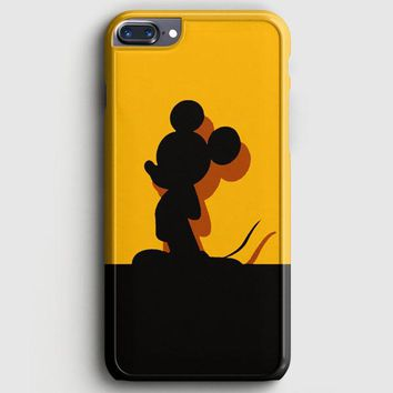 Mickey Mouse Pluto Chip And Dale iPhone 8 Plus Case | casescraft