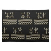 African Tribal Dance Placemat