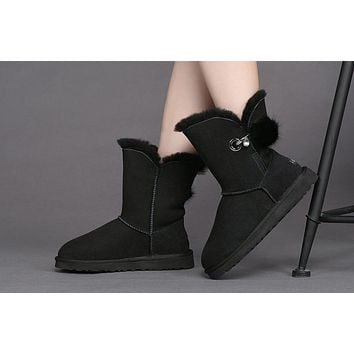 Best Sale Online UGG Black Limited Edition Classics Boots IRINA Women Shoes 1017502