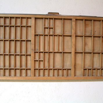 Vintage Hamilton Printer Drawer Tray Display Organizer Collection