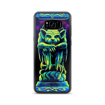 Samsung Phone Case ALL models available Gothic Gargoyle by Vincent Monaco