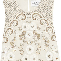Needle & Thread - Embellished chiffon top