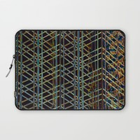 Abstract Design 1 Laptop Sleeve by Claude Gariepy