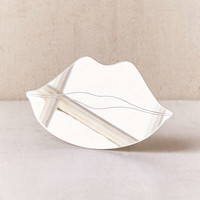 Lips Tabletop Mirror | Urban Outfitters