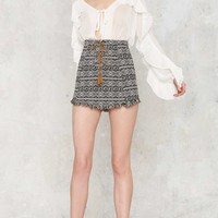 Aztec You Later Mini Skirt