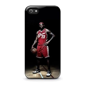LEBRON JAMES CLEVELAND iPhone 5 / 5S / SE Case Cover