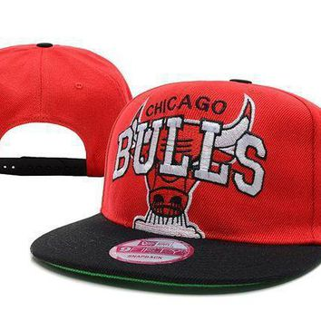 Chicago Bulls Nba 9fifty Hat Red Black