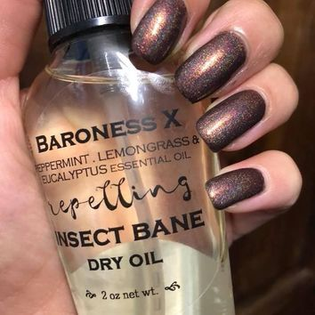LE Insect Bane Dry Oil - Essential Oil Based Insect Repellent
