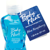 Mini Body Heat - 1.25 Oz Blue Raspberry
