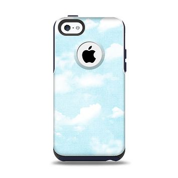 The Vintage Cloudy Skies Apple iPhone 5c Otterbox Commuter Case Skin Set