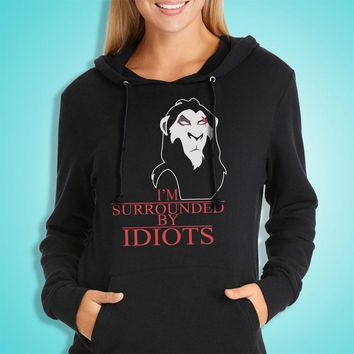 Scar The Lion King Surrounded By Idiots Women'S Hoodie