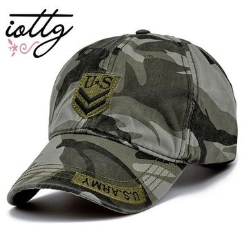 Trendy Winter Jacket IOTTG 2017 Latest US Air Force One Men Baseball Cap High Quality Marine Corps Camo Snapback Hat Casual Cap Truck Driver Cap AT_92_12