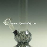The Bublie Glass Water Pipe - Black