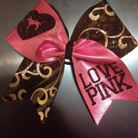 Love Pink Cheer Bow