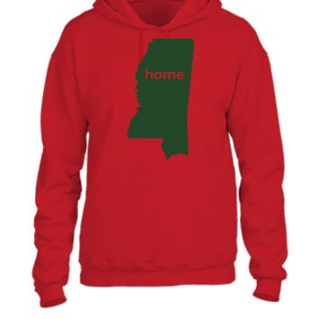 mississippi home - UNISEX HOODIE
