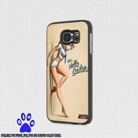 Well hello sailor for iphone 4/4s/5/5s/5c/6/6+, Samsung S3/S4/S5/S6, iPad 2/3/4/Air/Mini, iPod 4/5, Samsung Note 3/4 Case * NP*