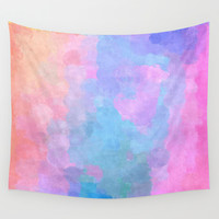 abstract Wall Tapestry by Munich
