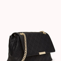 Fancy Quilted Shoulder Bag