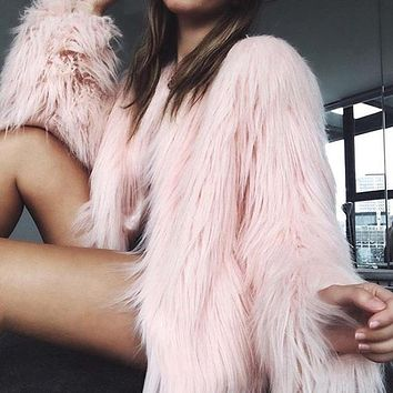 Long Fur Jacket