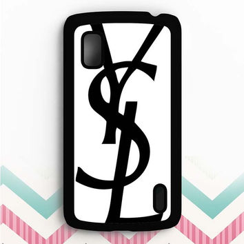 YVES SAINT LAURENT Nexus 4 Case