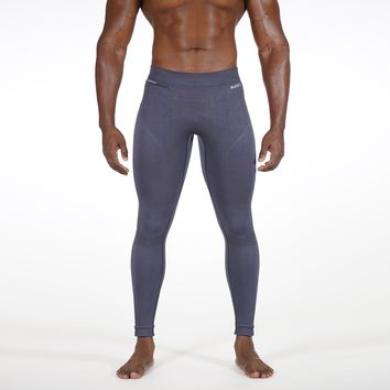 Knitted Seamless Gray Tights for men