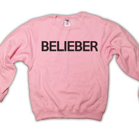Holiday Sale  Belieber  Justin Bieber Light by TopBananaPhilly