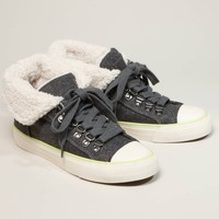 AEO Flannel Hi-Top Sneaker   American Eagle Outfitters