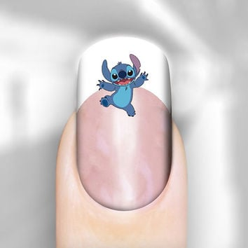 Nail Art Decal Stitch Walerslide or Peel & Apply Transfer Set of 30 Images Adult Kid Sz