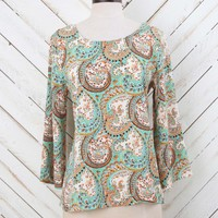 Altar'd State Perfect in Paisley Top | Altar'd State