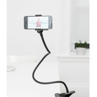 Kikkerland Flexible Phone Holder - Retail Packaging - Black