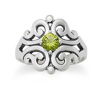 Spanish Lace Ring with Peridot | James Avery