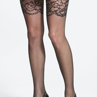 Women's Oroblu 'Collant Marian' Lace Pattern Tights