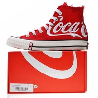 """KITH x Coca-Cola x Converse Chuck Taylor All Star 1970s """"Whtie&Red"""" Sneaker 1620287C"""
